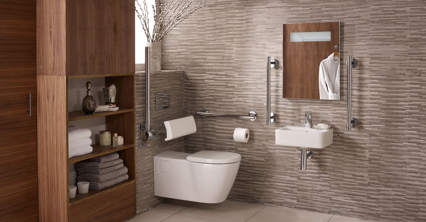 Bathroom pack - 40cm basin & ext. wall hung toilet