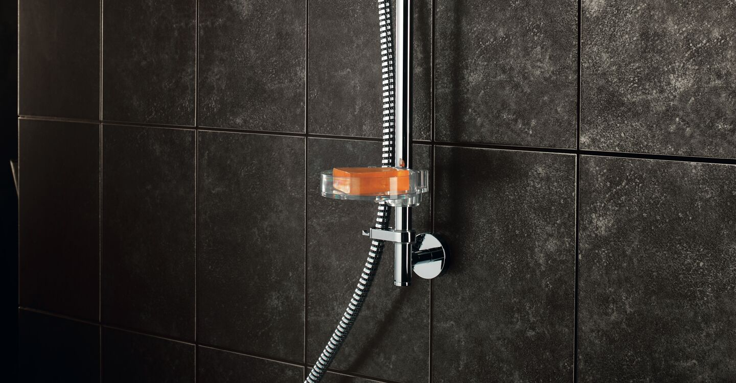 Thermostatic exposed bath shower mixer (no kit)