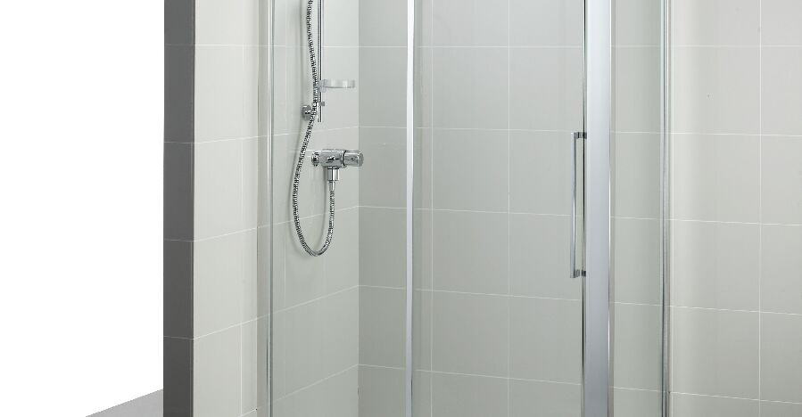 800mm side panel with idealclean clear glass