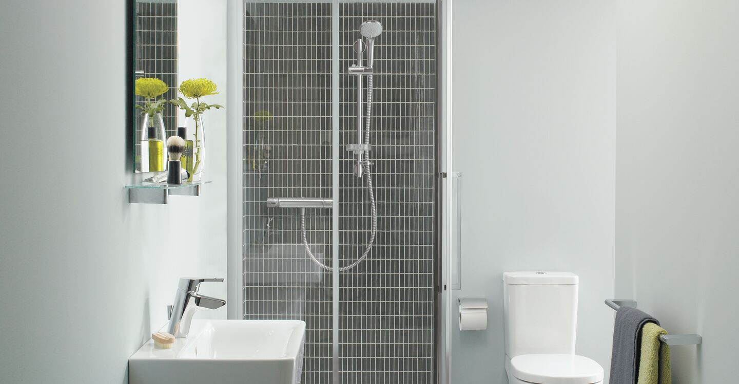 Thermostatic exposed shower pack with M3 kit