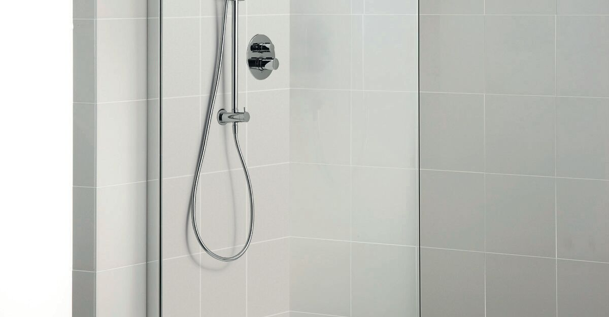 Easybox slim thermostatic bath shower mixer round