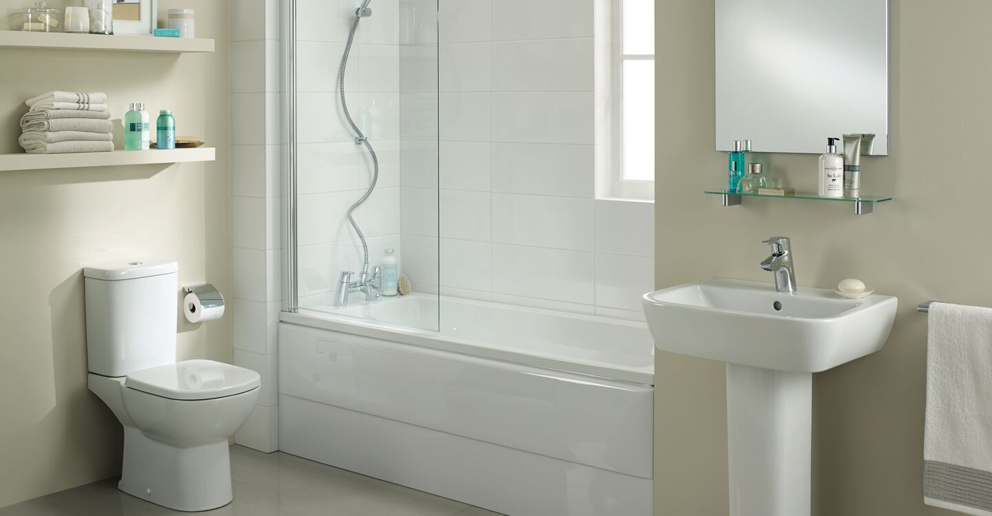 180 x 70cm rectangular Idealform bath