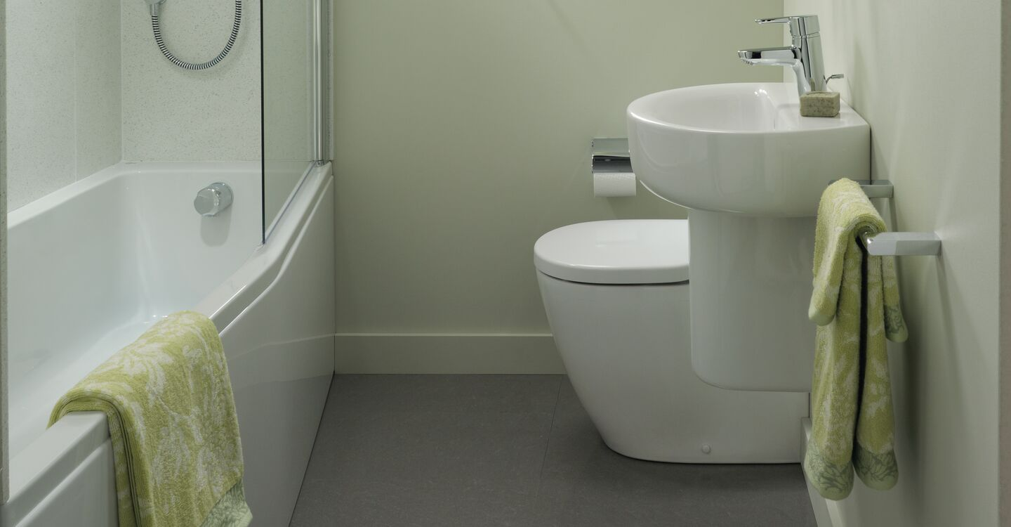 170cm Idealform plus+ spacemaker bath lh nth
